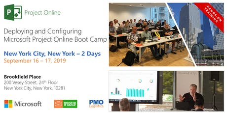 NYC - Deploying and Configuring Microsoft Project Online....In Person Boot Camp tickets