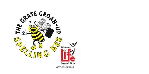7th Annual Grate Groan-Up Spelling Bee - Saturday September 28, 2019