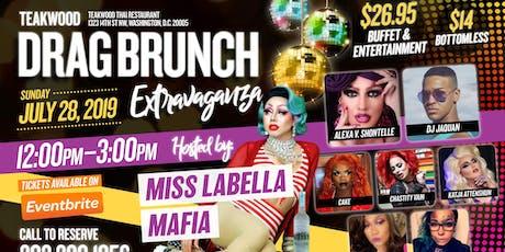 Teakwood Drag Brunch Extravaganza 07/28/19 tickets