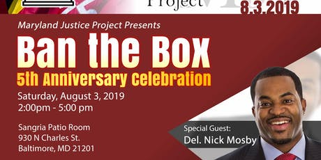Ban the Box 5th Year Anniversary Celebration tickets