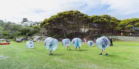 Bungalow July Community Event: Bubble Soccer at Codornices Park! tickets