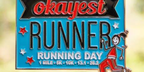 2019 The Running Day 1 M, 5K, 10K, 13.1, 26.2 - Alexandria tickets