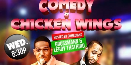Comedy and Chicken Wings tickets