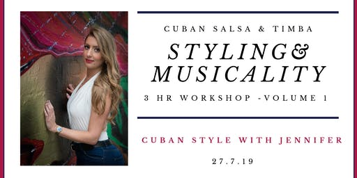 Styling and Musicality Workshop with Jennifer White - Volume 1.