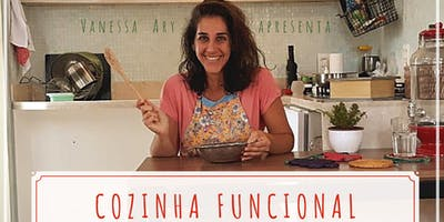 CURSO COZINHA FUNCIONAL - Culinária Vegana, sem glúten, açúcar e soja