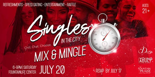 Singles in the City Mix and Mingle