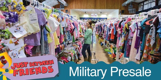Military/First Responder Family Presale - JBF Elk Grove $2 Admission (paid at the door)