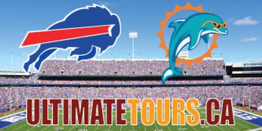 Bills vs Dolphins  Road Trip - October 19th-20th