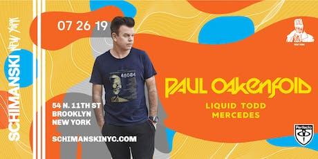 Paul Oakenfold tickets