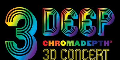 3 Deep - Chromadepth 3D Concert - Jaenki,  Pala Zolo, (Ep Release Party), Flaural, Triptides, ***** at Odds (Dub Set), Live Visuals by VJDN8 @ recordBar