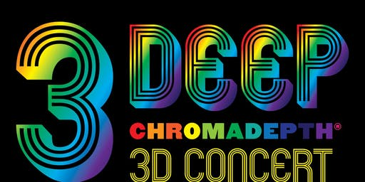 3 Deep - Chromadepth 3D Concert - Jaenki,  Pala Zolo, (Ep Release Party), Flaural, Triptides, Monta at Odds (Dub Set), Live Visuals by VJDN8 @ recordBar