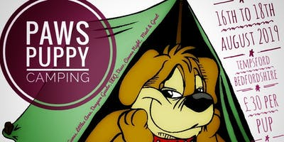 Paws Puppy Camping