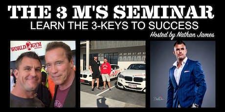 The 3 M's Seminar tickets