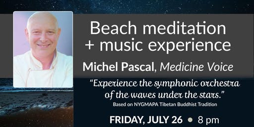 Beach Sunset Meditation + Music Experience