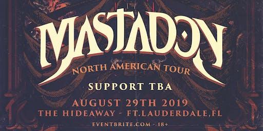 Mastadon: North American Tour