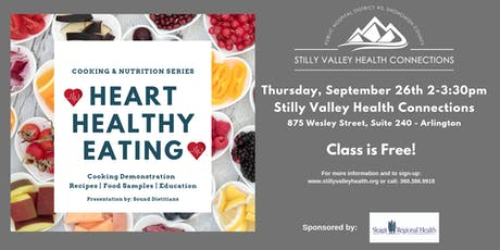 Cooking & Nutrition Series - Heart Healthy Eating tickets