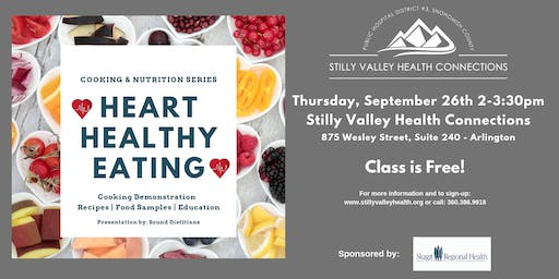 Cooking & Nutrition Series - Heart Healthy Eating