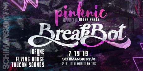 Breakbot (The Official Pinknic Afterparty) tickets