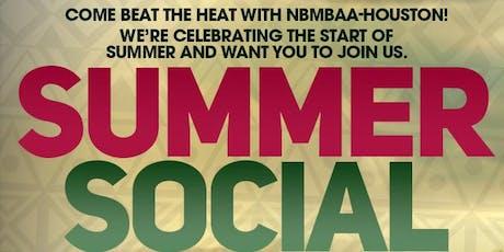 NBMBAA Houston Summer Social tickets