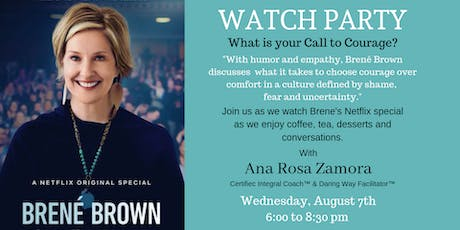 WATCH PARTY:  Brene Brown Netflix Special  tickets