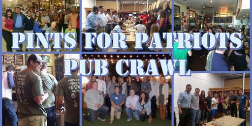 3rd Annual Pints for Patriots Pub Crawl