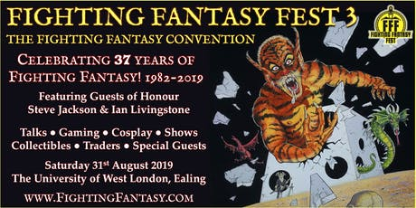 Fighting Fantasy Fest 3 tickets