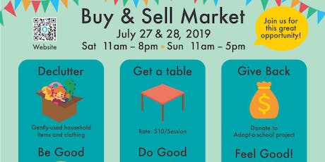 Buy & Sell Market Place tickets