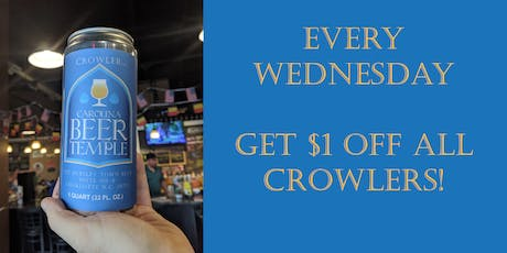 $1 Off Crowlers tickets