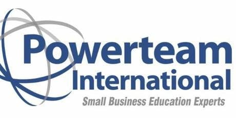 Powerteam Business Consulting, Executive Coach & Gold Member Training Day