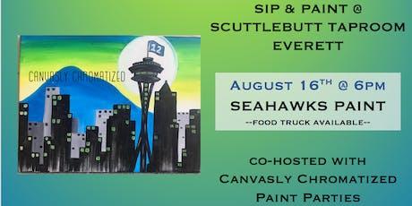 Seahawks Sip & Paint @ Scuttlebutt Taproom tickets