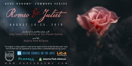 Romeo and Juliet (NOW AT RAINEY PARK instead of Queensbridge Park) tickets