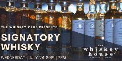 Signatory Vintage Scotch Whisky Tasting