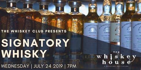 Signatory Vintage Scotch Whisky Tasting tickets