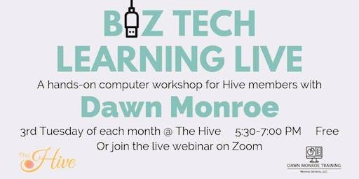 Leverage Your LinkedIn: Biz Tech Learning Live