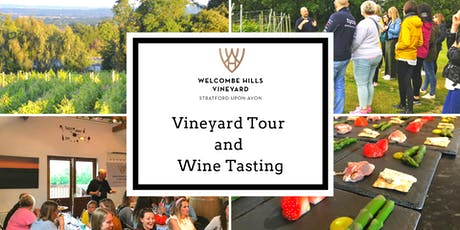 Vineyard Tour and Wine Tasting tickets