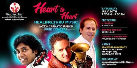 Heart to Heart: Healing thru Music tickets
