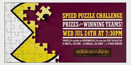 Puzzle Night tickets