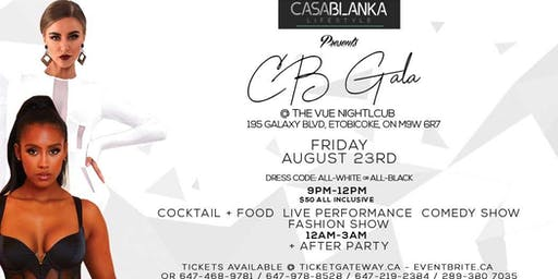 CB GALA (ALL WHITE or ALL BLACK AFFAIRS)