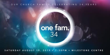 One Fam 34 | Celebration Concert tickets