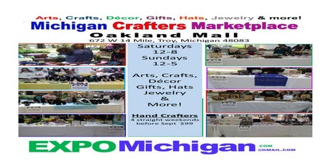 Crafters Studio & Marketplace at Oakland Mall, Troy, MI tickets