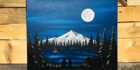 Mountain in the Woods - Canvas Paint Lesson tickets
