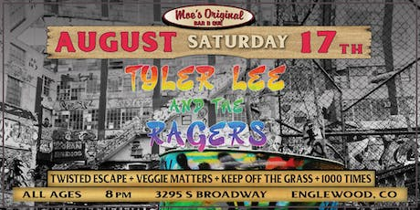 Tyler Lee & The Ragers at Moe's Original BBQ Englewood tickets