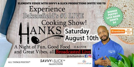 Live Cooking Show with Chef Hanks tickets