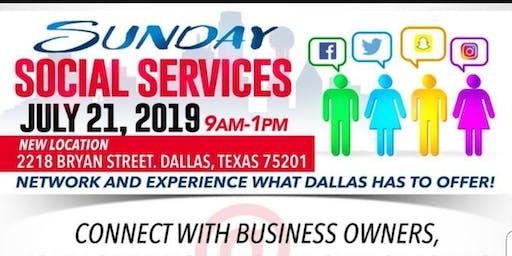 July Sunday Social Services