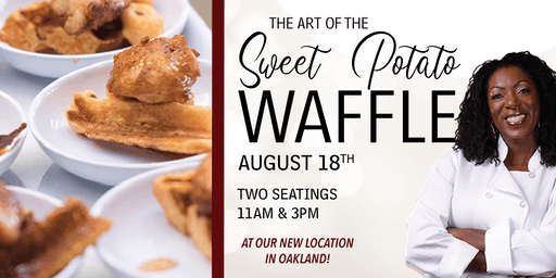Blackberry Soul Pop Up- The Art of the Sweet Potato Waffle