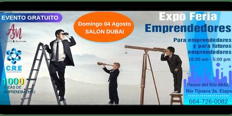 EXPO-FERIA EMPRENDEDORES- EVENTO GRATUITO entradas