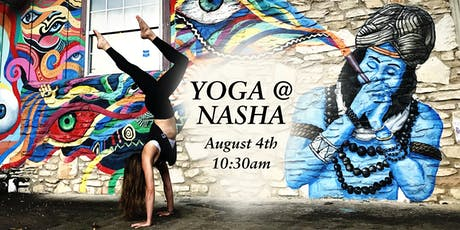 Community Yoga at Nasha India tickets