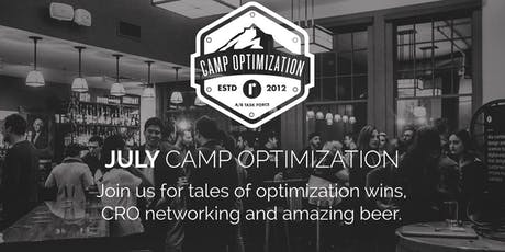 July Camp Optimization Meet-Up - Embracing Experimentation Culture tickets