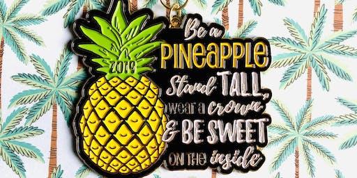 2019 The Be a Pineapple 1 Mile, 5K, 10K, 13.1, 26.2 -Little Rock
