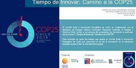 Tiempo de Innovar: Camino a la COP25 entradas